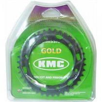 Kit Relação Kmc S/ Retentor Xtz 125 Aço 1045