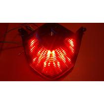 Lanterna Led Integrada Fumê Z1000 Z750 Zx6r Zx-10
