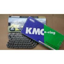 Corrente 520x104 Cbx 200 / Xr 250 / Xre 300 Kmc (retentor)