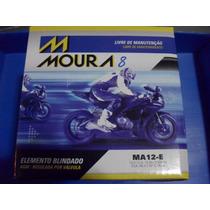 Bateria Moto Moura Ytx14-bs Yuasa Ma12-e 12ah V-strom Gs650
