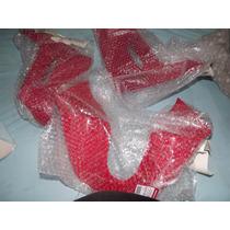 Kit Carenagem Laterais Do Tanque Xr200 Sem Adesivo Vermelha
