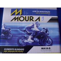Bateria Moto Moura Ytx20l-bs Yuasa Ma18-d Harley Davidson