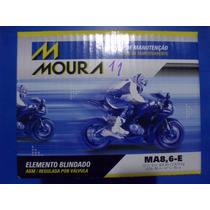 Bateria Moto Moura Ytz10s Yuasa Ma8,6-e 8,6ah Cbr 600 1000