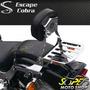 Sissy Bar Encosto Cobra Engate Rápido Drag Star 650 Yamaha