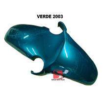 Paralama Dianteiro Cbx250 Twister Verde 2003 / 2004 Serjao