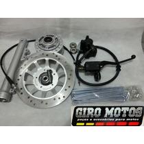 Kit Freio Á Disco Honda Cg Fan Titan 150 Mix 09 Até 2013