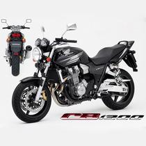 Slider Proteção Lateral Motos Carbon Honda Cb 1300 Cb1300