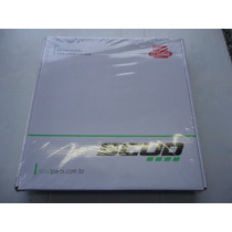 Relação Crf230 Kit Scud Corrente Com Retentor 50x13 Aço 1045