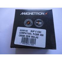 Escova Motor Arranque Cb 500 Cbr 450 Mesa Completa Magnetron