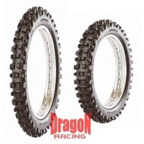 Par Pneu 300/21 + 400/18 Maggion Enduro Trilha Off Road