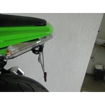 Suporte De Placa Premium Completo Kawasaki Ninja 250