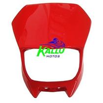 Carenagem Do Farol Xtz 125 Vermelho (03/08) Kallu Motos