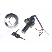Kit Ignição Moto Cbx Strada + Par Chaves + Tampa Tanque