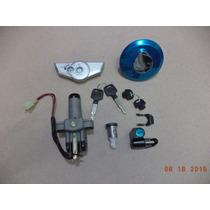 Kit Chave Ignição E Travas Honda Cg 150 Titan 2004 Até 2008