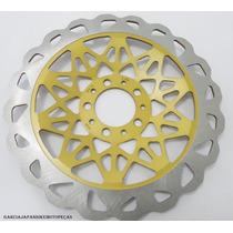Discão De Freio 290mm Titan 150 09 Fan 150 Dourado