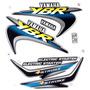 Jogo Kit Adesivo Yamaha Ybr125 2001 Verde