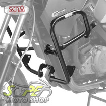 Protetor De Motor Carenagem Scam Gs 650 G Bmw Com Pedaleira