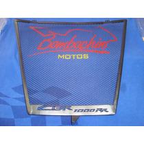 Protetor De Radiador Tela Cbr1000 2008 2013 Bombachini Motos