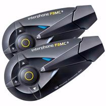 Intercomunicador Interphone Moto F3mctp Capacete Comunicação