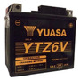 Bateria Yuasa Ytz-6v Moto Motocicleta Bros, Cg, Xre 300, Ybr