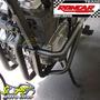 Protetor Motor Mata Cachorro Envolvente Gs 500 Suzuki Preto