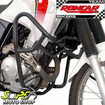 Protetor Motor E Carenagem Preto Fosco Tenere 250 Yamaha