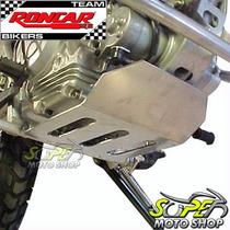 Protetor De Carter Roncar Aço Carbono Prata Xtz 125 Yamaha