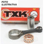 Biela Completa Txk (oem) Rx/tt/rd/rdz 125/135 + 2 Ret Virab