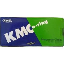 Corrente Transmissão Moto Kmc 520 Uo X 118 C/ Retentor