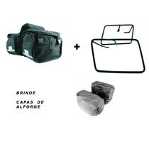 Kit Alforge Lateral + Afastador Honda Twister Brinde Capas