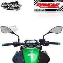 Guidão Modelo Original Preto Com Tuchos Z 800 - Kawasaki