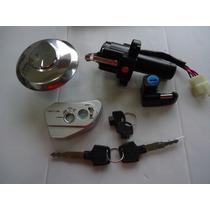 Chave Ignicao Nxr Bros Com Injeção Eletronica Kit Completo