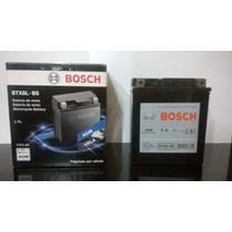 Bateria De Moto Bosch Gel Dafra Apache 150 2010 Até 2013.