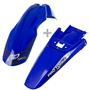 Kit Paralama Dianteiro Traseiro Azul Crf230 Universal Tork