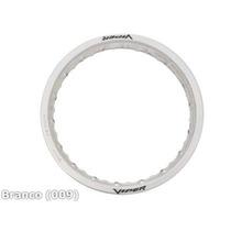 Jogo Aro Roda Aluminio 18x250 E 18x215 Branco Viper Street