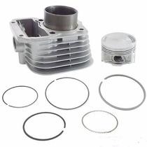Kit Motor Completo Cilindro Pistão Metal Leve Cg 125 Até2000