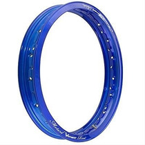 Aro De Roda Alum 18 X 2.50 Azul Diversas (motard) Viper