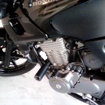 Slider Lateral Motos Carbon Honda Cb 500 Cb500 1998/2005