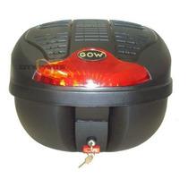 Bau Caixa De Moto Guarda Capacete Moto Gow 40 Litros