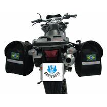 Kit Viagem Xre300 Alforge E Afastador (suporte) Gripho