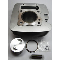 Kit Cilindro+pistao+anéis Suzuki Yes 125