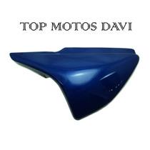 Tampa Lateral Direita Esquerda Par Honda Titan 150 Azul