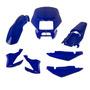 Kit Carenagem Completo Honda Bros 2003 2004 Azul Penedo