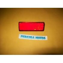 Refletor Do Paralama Traseiro Vermelho Yamaha Fazer 250