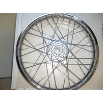 Roda Montada Cromada Dianteira Nxr/bros 125/150 2005 A 2014