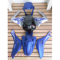 Kit De Pintura Nx4 Falcon Azul 2006 Carenagem Abas Lateral