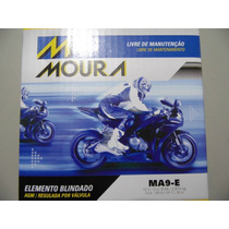Bateria Moura 9ah Prima 150 Mirage E Comet 250 Até 2009