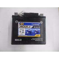 Bateria Moura Ma5 Bros Titan150mix Xre300 Crf230 Fabão