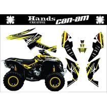 Adesivos 3m Atv Persona. Quadriciclo Can Am Honda Fourtrax