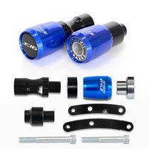 Slider Speed Style Yamaha Xj6f Xj6-f Xj6 F Azul